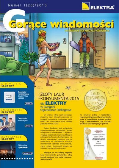 GORĄCE WIADOMOŚCI 1/2015 (26)