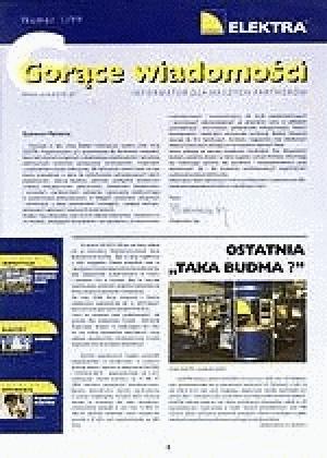 GORĄCE WIADOMOŚCI   1/1999 (1)