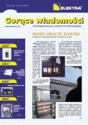 GORĄCE WIADOMOŚCI   3/2001 (9)
