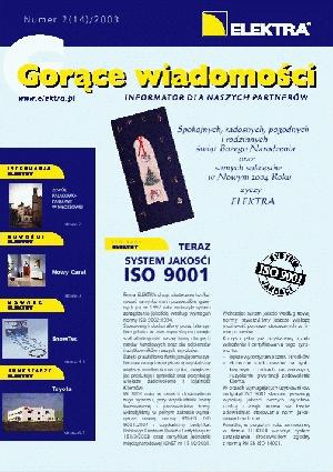 GORĄCE WIADOMOŚCI   2/2003 (14)