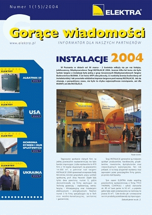 GORĄCE WIADOMOŚCI   1/2004 (15)