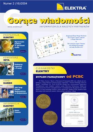 GORĄCE WIADOMOŚCI   2/2004 (16)