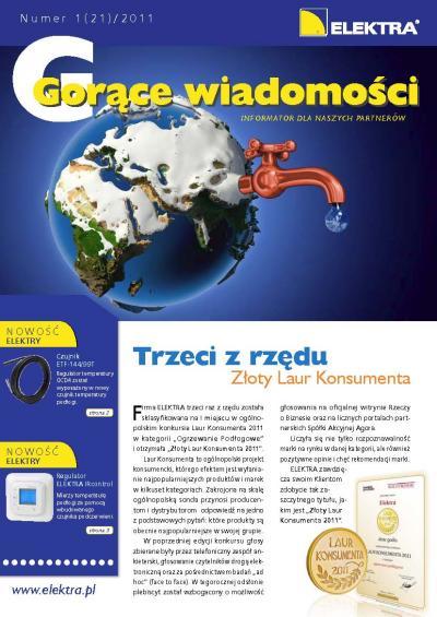 GORĄCE WIADOMOŚCI   1/2011 (21)