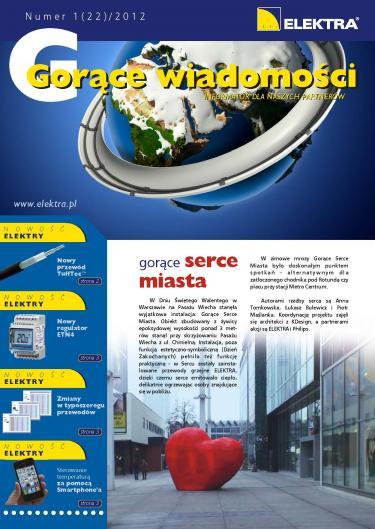 GORĄCE WIADOMOŚCI   1/2012 (22)
