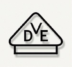 Znak VDE dla mat grzejnych Elektra