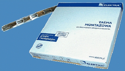 The installation tape<br>for ELEKTRA heating cables